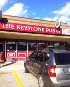 The Keystone Pub Exterior