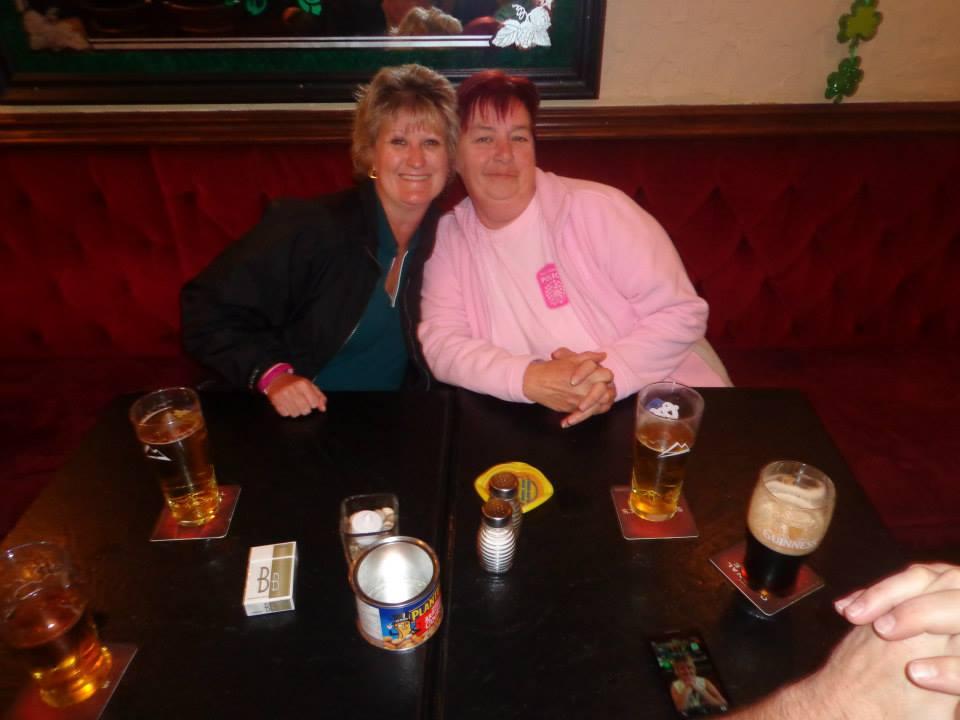 St. Patricks !! Penny & Heather