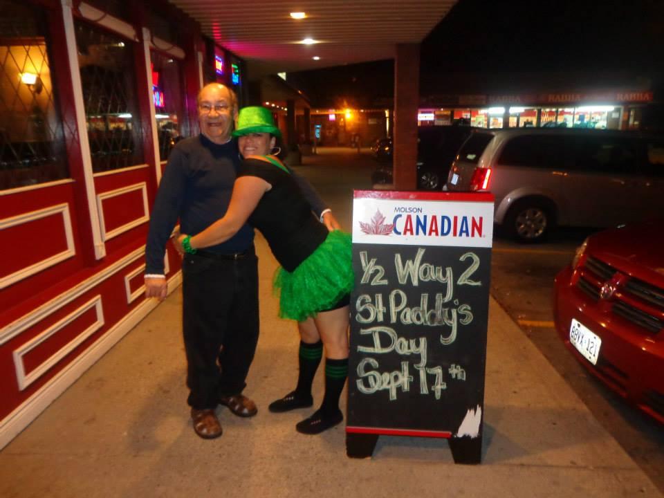 St. Patricks !! Tina & Ken