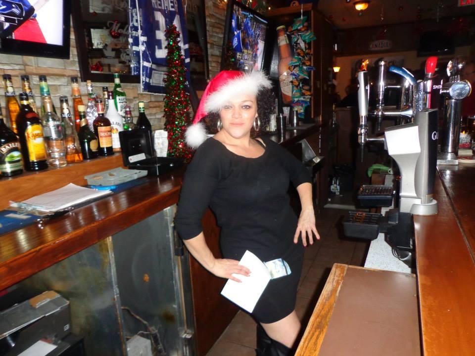 Christmas !! Bar Tender Tina