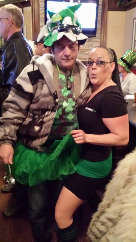 St. Patricks !! Tina & Brandon