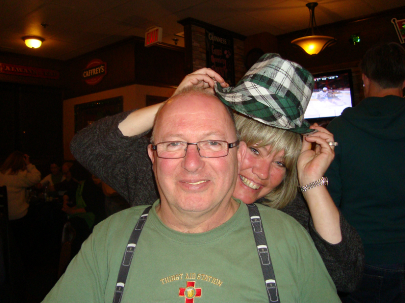St. Patricks !! Ed & Wendy
