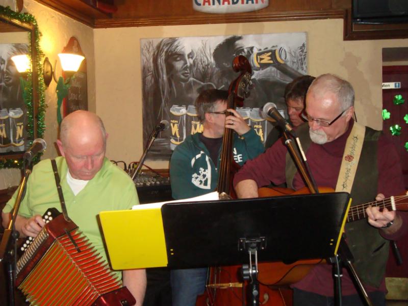 St. Patricks !! Musicians