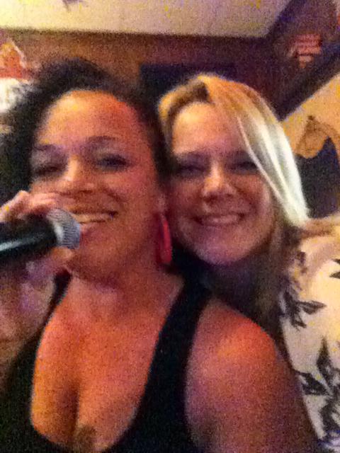 Karaoke Nite !! Tina & Tracy